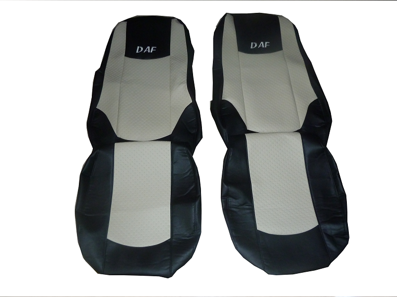 DAF XF 105 2012 2013 PAIR OF TRUCK SEAT COVER ECO