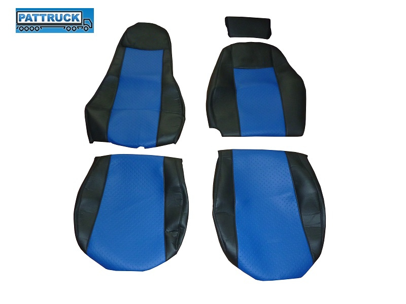 TRUCK ECO LEATHER SEAT COVER FIT SCANIA 2005 2012 Truck